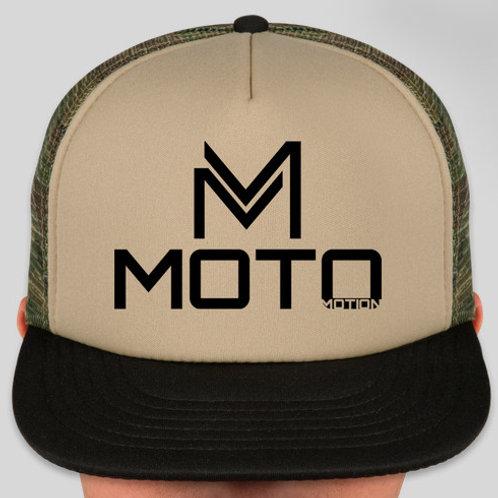 """Moto"" Camo Hat"