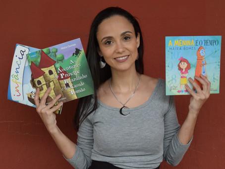 Entrevista com Maíra Gomes: Vencedora em três categorias no II Prêmio Book Brasil.