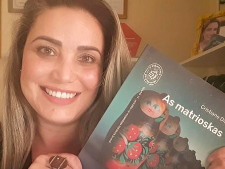 """Entrevista com Cristiane Dias: Vencedora na categoria """"Livro Infantojuvenil 2020""""."""