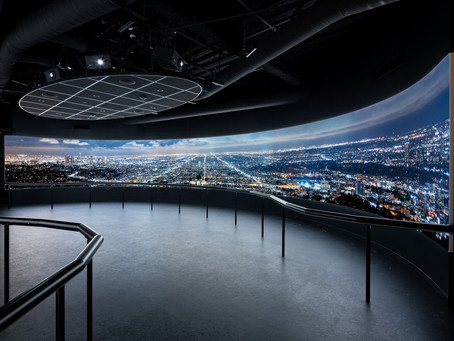 OUE Skyspace LA Gets a 360 Time Lapse Installation by Colin Rich