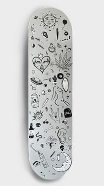 Flash Tattoo Skateboard Deck