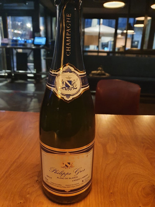 Champagne Philippe Gros (blanc de blanc)