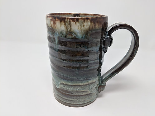 Turquoise Stein, 2 of 2, holds ~ 20 oz