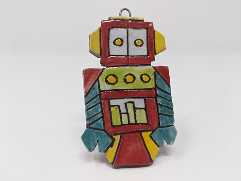 Red Bot Ornament
