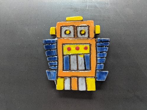 Orange Bot Magnet