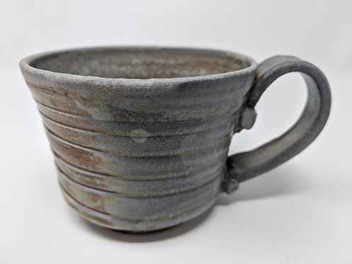 Woodfires spiral mug, holds ~ 8 ounces