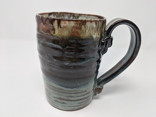 Turquoise Stein, 1 of 2, holds ~ 20 ounces