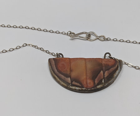 🔥 wood-fired necklace, 26-in long
