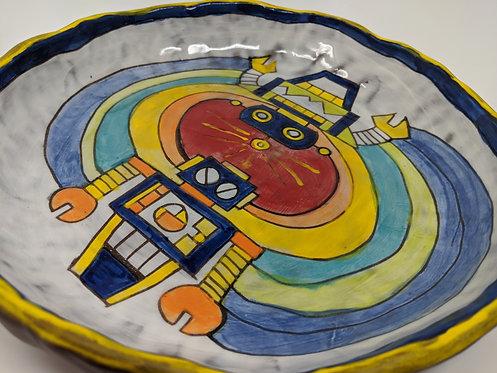 🤖 Robot platter, 10 in wide