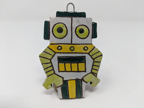 White Bot Ornament