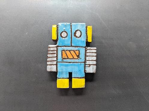 Turquoise Bot Magnet