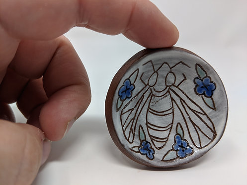 Bee ring dish, 2 inches, 1 of 2