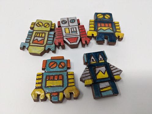 Robot Friends Magnet Set