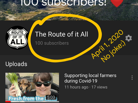 Hitting Our First YouTube Milestone