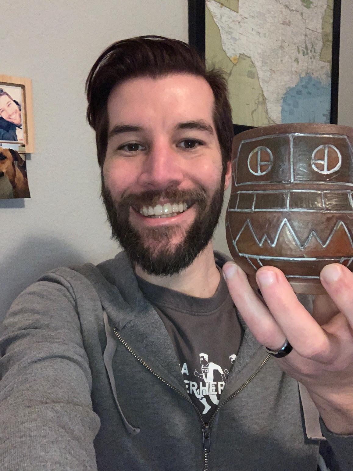 ryan broussard robot selfie