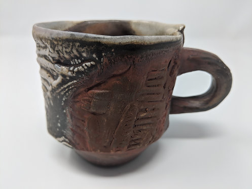 Wood fired mug ~6 ounces