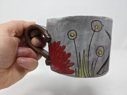 Sweet Sippin' Hummingbird Mug