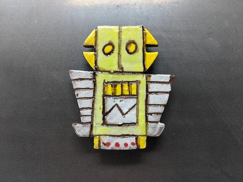 Green Bot Magnet