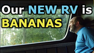 The Return Journey, our new rv is banana