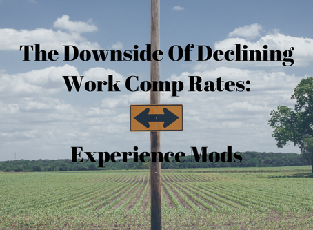The Downside Of Declining Work Comp Rates