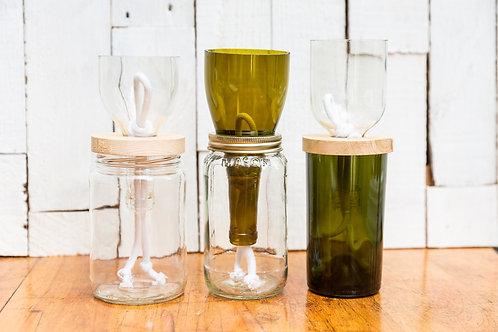 Repurposed Bottle Planter - Surprise Me!