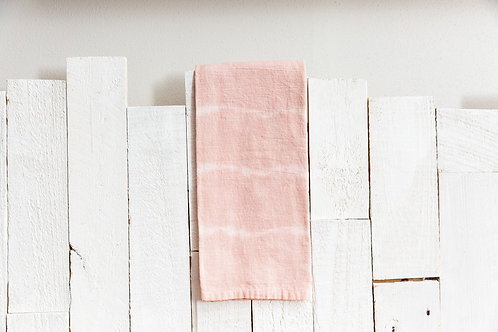 Naturally Dyed Flour Sack Towel - Striped