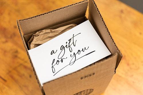 Send As A Gift  |  Hand-written Note