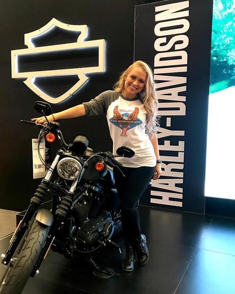 Brand Ambassador for Harley Davidson