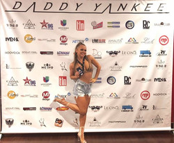Dancing for Daddy Yankee