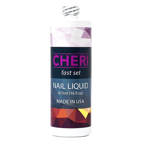 CHERI FAST SET NAIL LIQUID - 16 OZ
