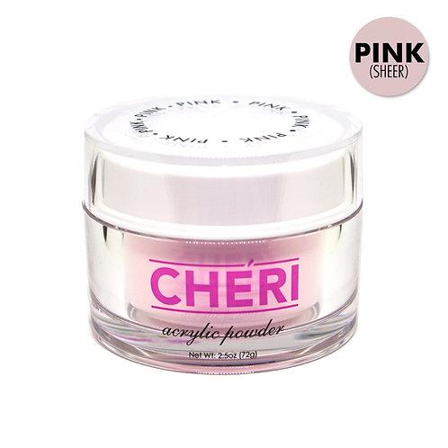 CHERI ACRYLIC POWDER 2.5OZ - PINK (SHEER)
