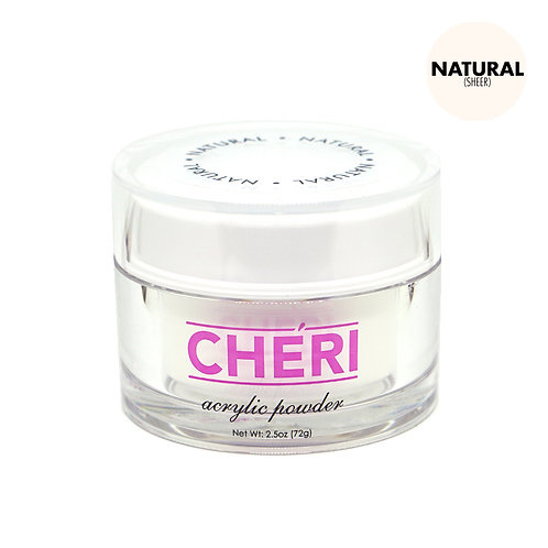 CHERI ACRYLIC POWDER 2.5 OZ - NATURAL (SHEER)