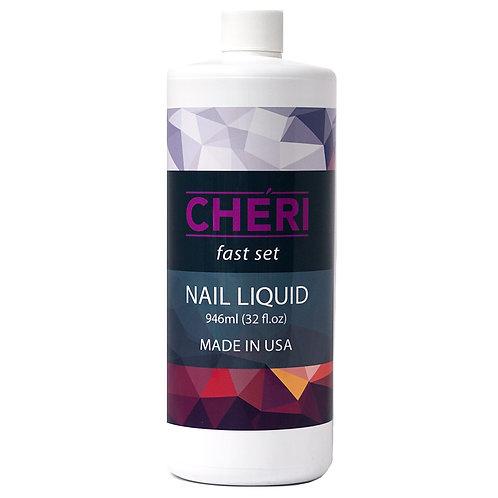 CHERI FAST SET NAIL LIQUID - 32 OZ