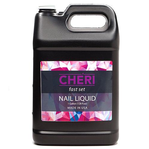 CHERI FAST SET NAIL LIQUID - 1 GALLON