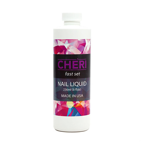 CHERI FAST SET NAIL LIQUID - 8 OZ