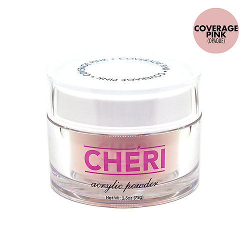 CHERI ACRYLIC POWDER 2.5 OZ - COVERAGE PINK (OPAQUE)