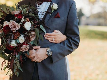 Kim & Jacob's Boho Glam Fall Nuptials