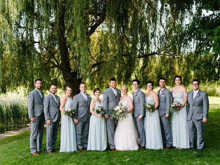 Jennifer & Eric's Intimate Vineyard Wedding