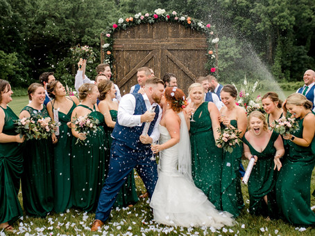 Jill & Christian's Spring Into Summer Wedding