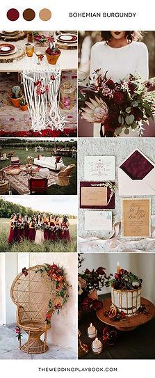 Mood-Board-Bohemian-Burgundy-Wedding-Ins