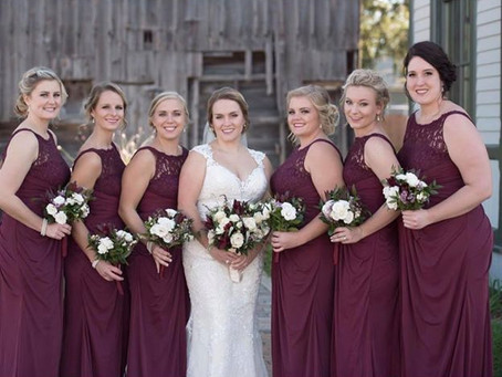 A Burgundy Wedding Round Up