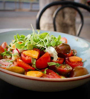 סלט פטה ועגבניות