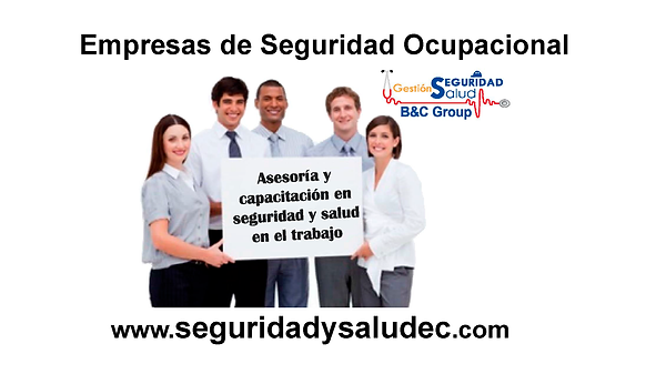 empresas de asesoria en seguridad y salud en el trabajo