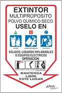 Rótulo de extintor
