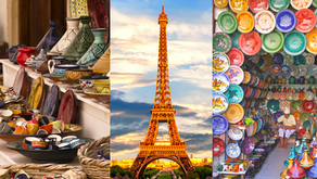 2-in-1 Paris and Marrakesh 8-day vacation with Air from $999!