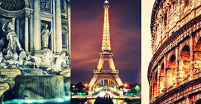$899! 2-in-1 Paris and Rome vacation with Air!