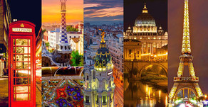 5-in-1! Fly to London, Paris, Madrid, Barcelona and Rome from $357!