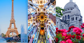 2-in-1 Paris and Barcelona 8-day vacation with Air from $799!