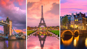 7-Day Six European Countries Tour from $1210!