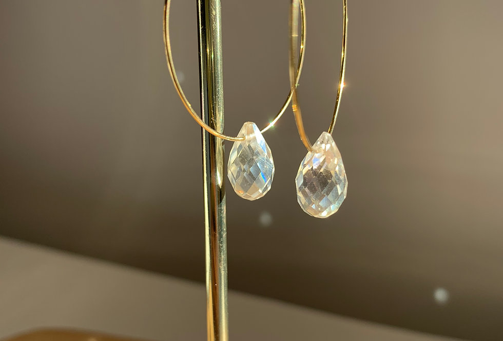 Gouttelette opale